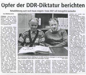 Opfer der DDR